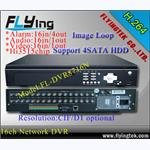 Stand-Alone DVR, H.264 Compression,support 4HDD with D1 resolution
