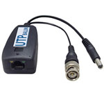Single Channel Video Balun & Power Receiver for Camera Side   VBP2412DC