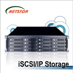 NR330A - 3U 16 bay iSCSI Networking Storage