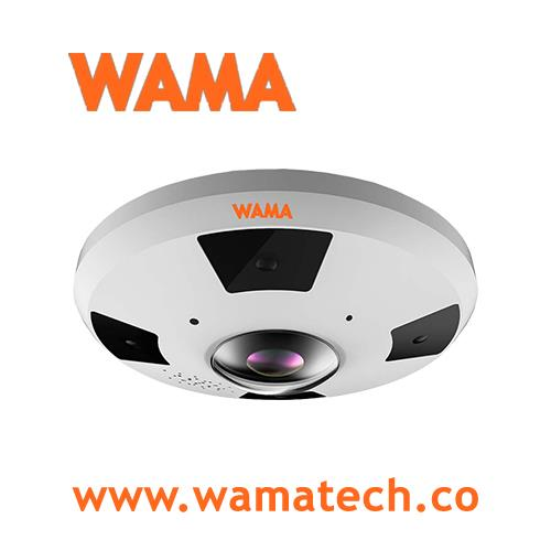 WAMA 12 MP H.265 Panoramic Camera