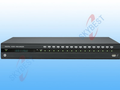 H.264 Stand Alone DVR-H8016(mobilephone surveillance, IPhone)