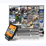 NVR KIT│WN-2524D 25CH Linux-based IP Surveillance NVR Kit