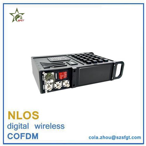 Military nlos HDMI+SDI+BNC COFDM wireless video Transmitter