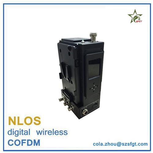 1080P encryption nlos cofdm wireless video camera transmitter