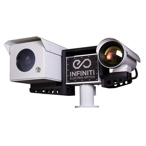 HD Thermal Infrared 1-50km Night Vision PTZ Surveillance Camera + IR Illumination GPS LRF Gyro LRTI