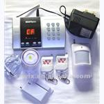 Auto-Dial Wireless Alarm System Intelligent English Voice Operate
