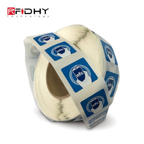 Roll Package Printable Low Price 13.56mhz RFID NFC Label