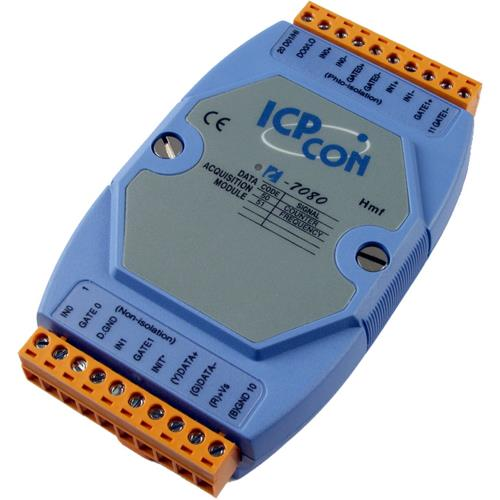 ICPDAS 2-channel Counter/Frequency Input Module I-7080