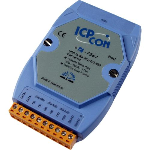 ICPDAS USB to Isolated RS-232/422/485 Converter I-7561