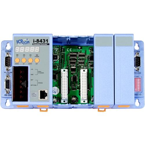 ICPDAS Ethernet Embedded Controller with 4 slots I-8431