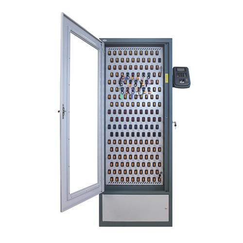 Security cabinet with a maximum of 200 key places