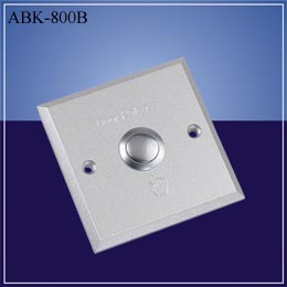 Door release button Aluminium