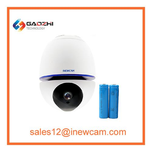 Battery powered 1080P motion detection home security wireless IP Camera