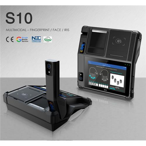 S10 SIM Card NIN Registration FAP60 Scanner Terminal