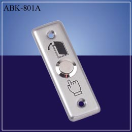 Door release button stainless steel