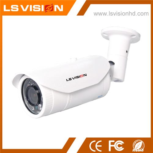 LS VISION Saturn S4 Series 2MP 1080P Starlight Cmos H.265 Motorized Lens P2P Poe IR Bullet IP Camera
