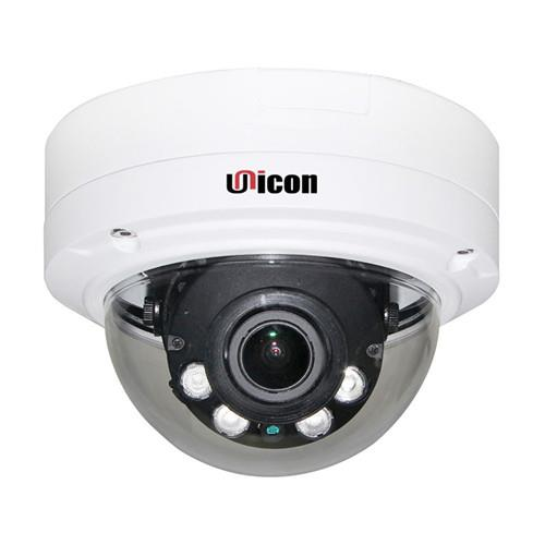 Unicon Vision 4MP H.265 Motorized lens Vandalproof Dome IP Camera