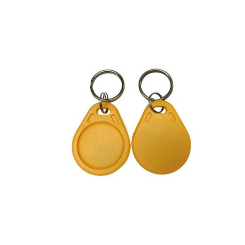 Batag RFID ABS Key Fob, Yellow KCA-210H-0N (IC: MIFARE Classic® 1K, 13.56MHz, Read/Write) AB0003