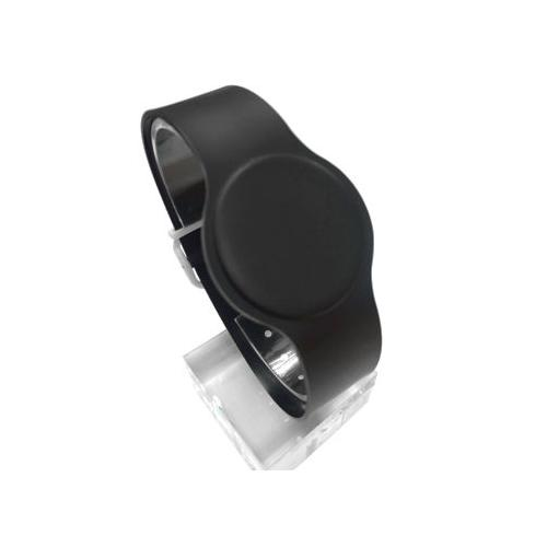 Batag RFID PVC Adjustable Wristband Band Black WLP-210S-0N (IC Chip: MIFARE Classic® 1K 13.56Mhz)