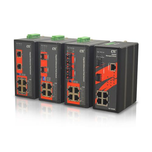Industrial Unmanaged GbE PoE Switch- IGS-402S-4PU, IGS-402S-4PH24, IGS-402F-4PH24 & IGS-600-4PH24
