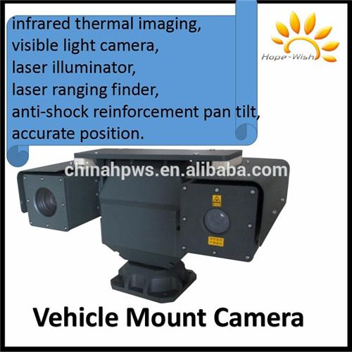 Vehicle Mount Optical System surveillance camera IP infrared camera