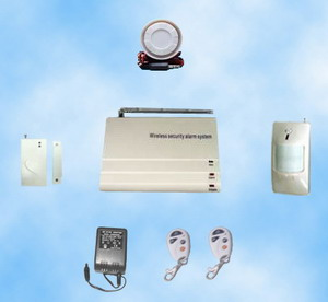 Economical Wireless 32 Zones Fire& Burglar Home Alarm System