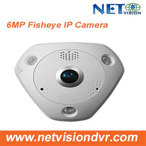 6MP Wifi Alarm & Audio Fisheye 360 degree Panoramic IP Camera-NV796MFWS-IR