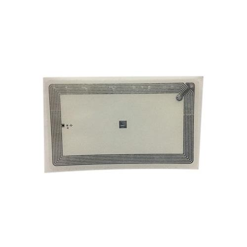 RFID PET Wet Inlay, with Adhesive, Transparent, FM11RF08 (ISO 14443A Compliant), 13.56MHz, R/W