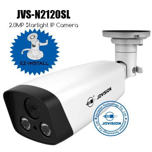 2.0MP Starlight EZ-Install Network Camera (IP Camera)
