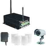 Cameras alarm system for home security