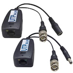 Passive Video Balun with Power Guarantee Kit (VBP24DC-01)