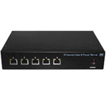 5 Channel Video & Power Server   VBP24DC-05