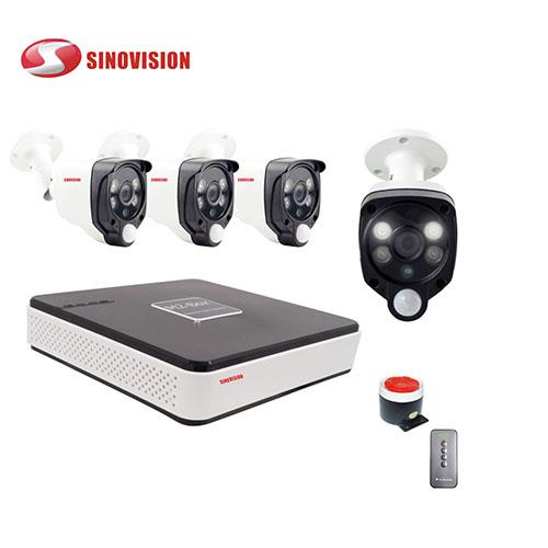China factory Sinovision wholesale 1080P COC PIR  DVR kit for home security