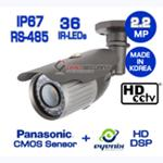 [1080p/Full HD] 2.2MP HD-SDI Bullet Camera 36IR(Eyenix DSP + Panasonic CMOS)