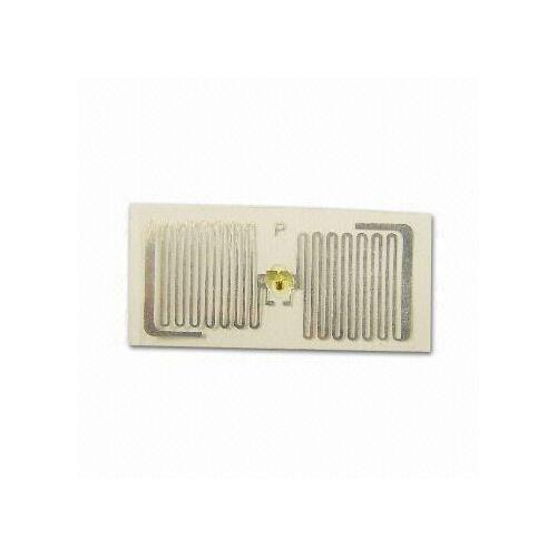 RFID Inlay, Measures 18 x 38mm, PET without Adhesive/U COED Gen 2, with 915MHz R/W Frequency