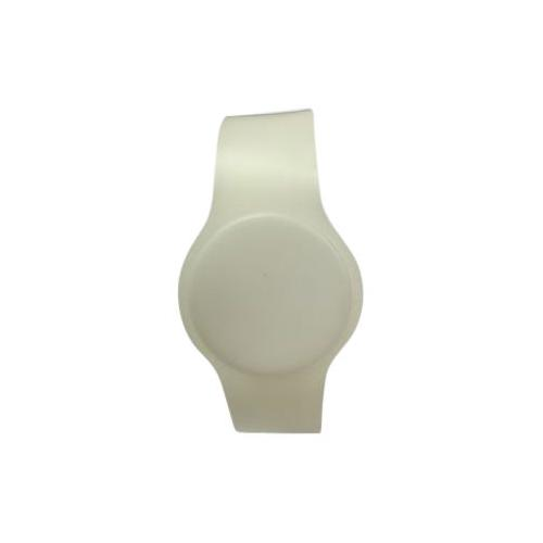 Batag RFID PVC Adjustable Wristband Band White WLP-210E-0N (IC Chip: MIFARE Classic® 1K 13.56Mhz)
