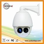 1080P network synchronized zoom infrared high speed dome camera
