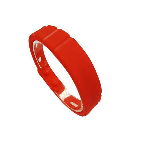 RFID Silicone Rubber Wristband W0R-610R-0N with ALIEN Higgs-3 (UHF)