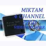 MIKTAM 4 Channel 720H Video Decoders-MIK2455B