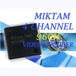 MIKTAM 4 Channel 960H Video Decoders-MIK2466