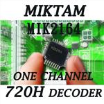 MIKTAM 1 Channel 720H Video Decoders-MIK2164