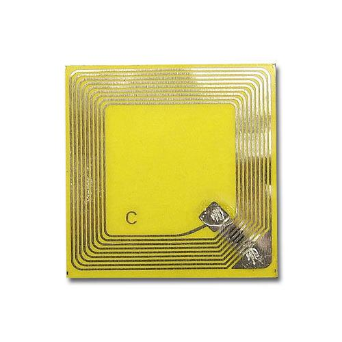 PET RFID Inlay, Measures 45 x 45mm, Adhesive, MIFARE Classic® 1K