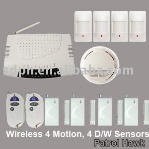 House Security GSM Alarm System