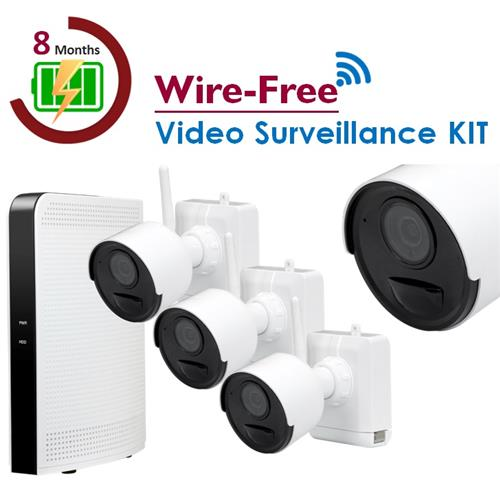 Wire-Free Video Surveillance KIT