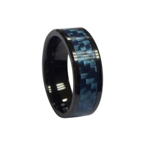 RFID Ceramic Ring, White, Customized Pattern, Non-directional Reading, NXP NTAG213, 13.56MHz, R/W
