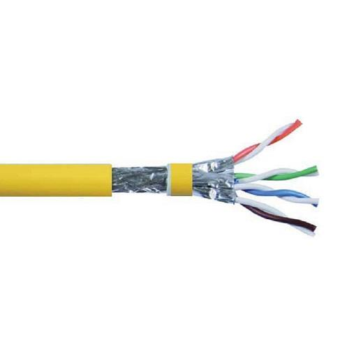 4P Cat.8 S/FTP 22 AWG Screened Solid Cable