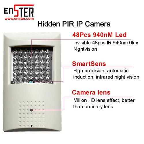 Enster CAMHI 5MP PIR Style Onvif WiFi IP Security Camera 940nm Recording Motion Detection