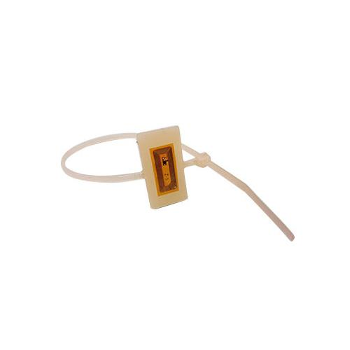 160mm NXP I CODE SLI RFID HF Cable Tie in white, with 13.56Mhz Frequency
