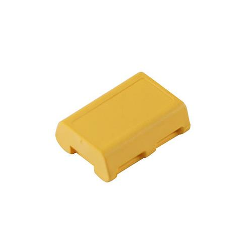 RFID PA6 Sleeve Tags, Blue /ICODE SLIX, 13.56MHz Frequency, Read/Write, yellow