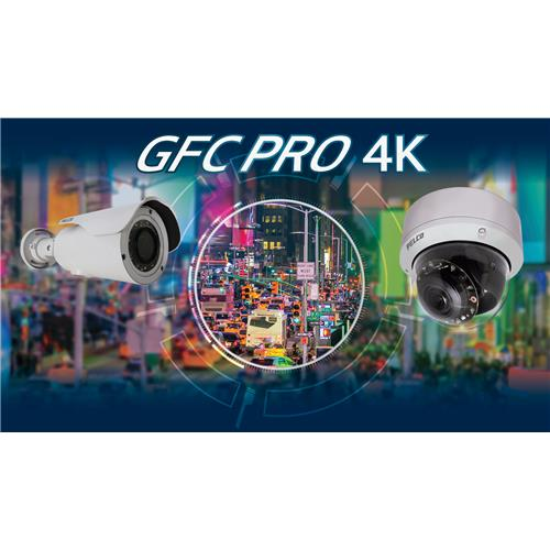 Pelco GFC Professional 4K Camera - IBP Series Environmental Bullets